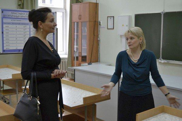 Вера Баширова посетила «Губернаторский многопрофильный лицей-интернат для одаренных детей Оренбуржья»